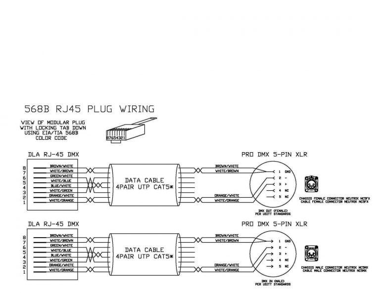 Xlr To Rj45 Wiring Diagram. Xlr. Electrical Wiring