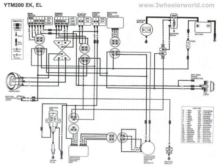 Yamaha Blaster Wiring Diagram Awesome Stock Diagrams