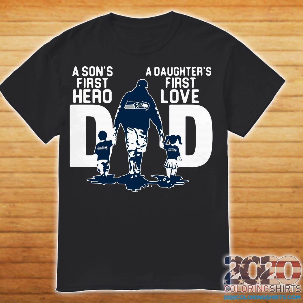 Download Seattle Seahawks Dad a Sons first hero a Daughters first ...
