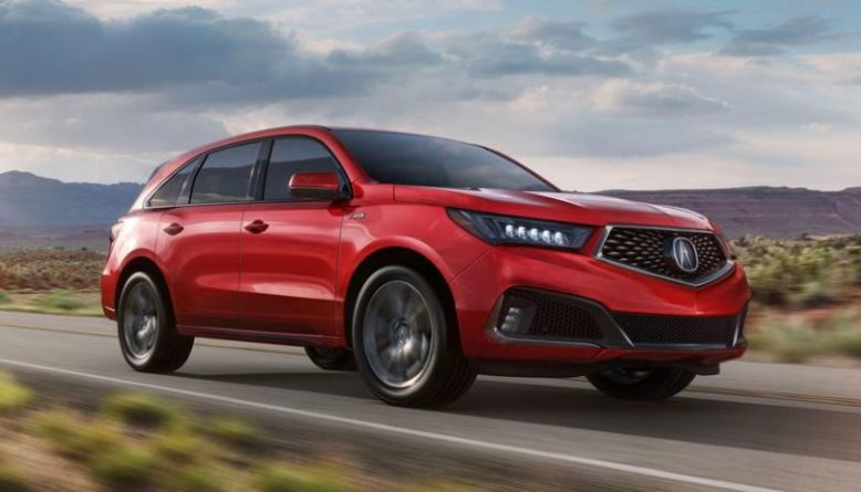 2020 Acura MDX Redesign Release Date Hybrid 2020