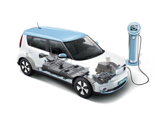 2019 Kia Soul EV engine