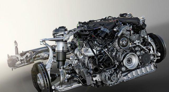 2020 Bentley Bentayga engine