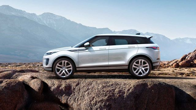 2020 Range Rover Evoque side