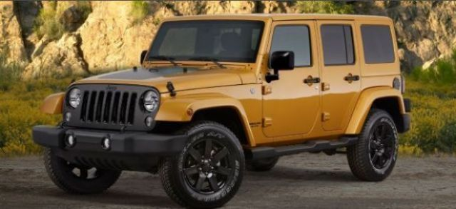 2020 Jeep Wrangler Unlimited side