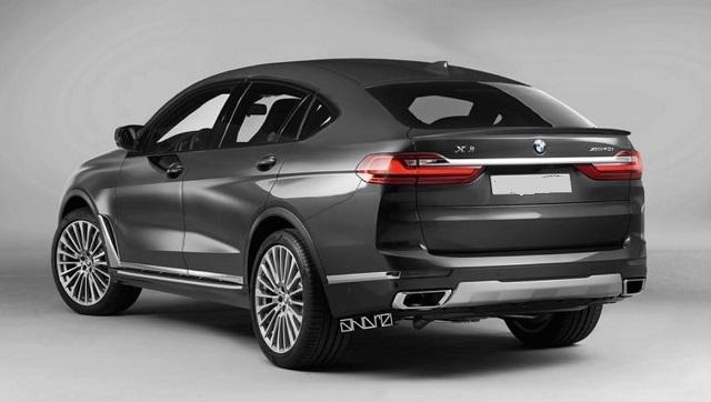 2021 BMW X8 rear