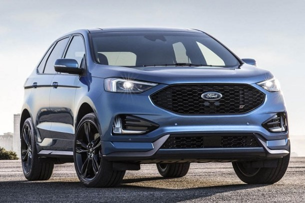 2019 Ford Edge ST Sport Edition front view