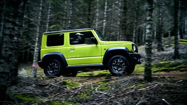 2019 Suzuki Jimny side view