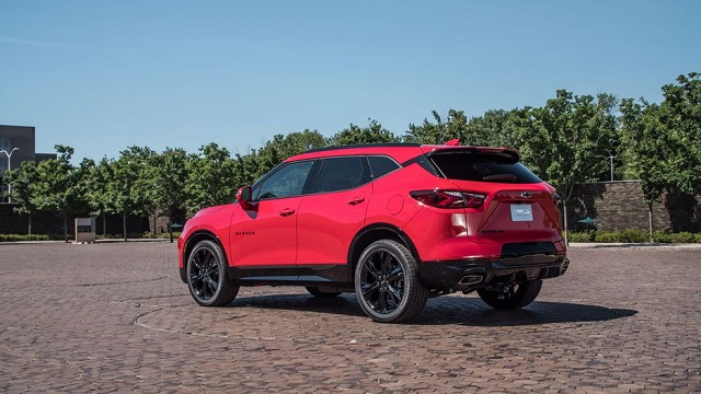 2020 Chevrolet Blazer rear