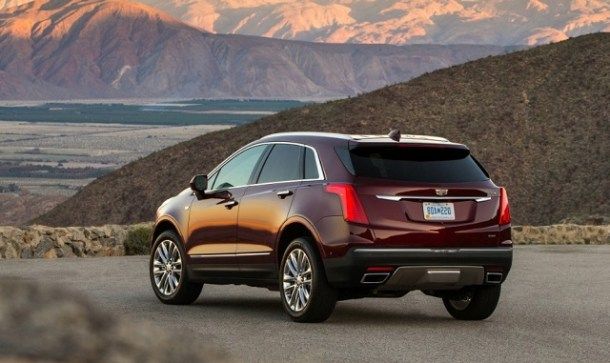 2019 Cadillac XT6 Rear view