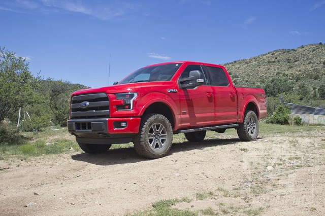 2020 Ford F-150 front view