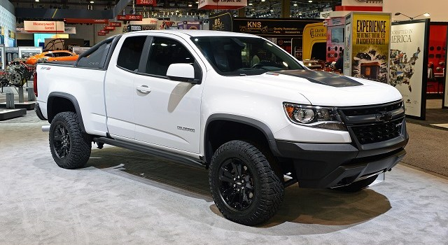 2020 Chevy Colorado front