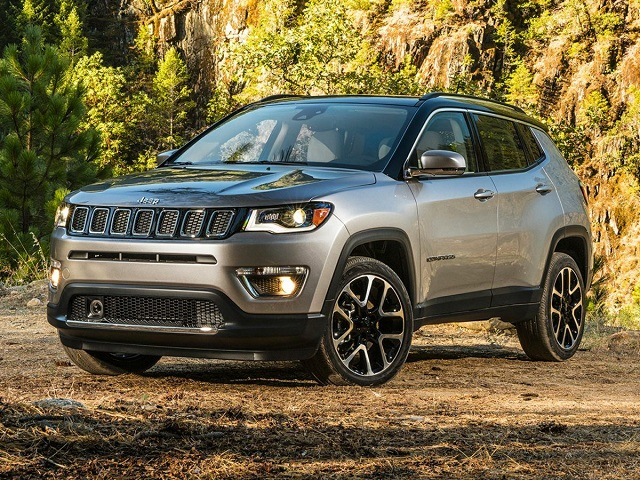 2020 Jeep Compass front