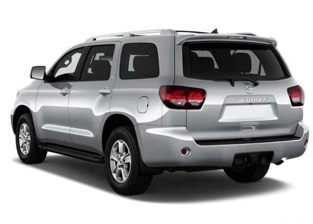2020 Toyota Sequoia rear view