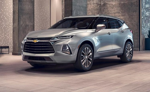 2020 Chevy Trailblazer front
