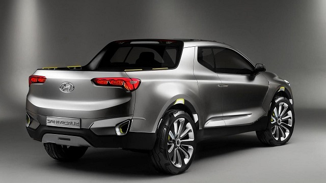 2020 Hyundai Santa Cruz rear