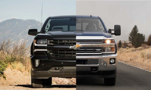 2019 Chevy Silverado 1500 vs 2500