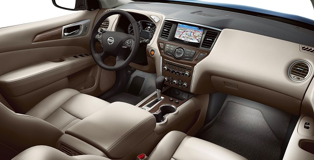2019 Nissan Pathfinder redesign interior
