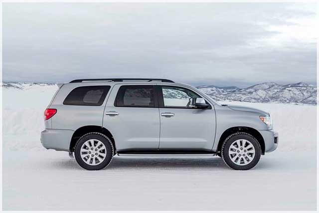 2020 Toyota Sequoia redesign