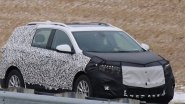 2020 Chevy Equinox spy