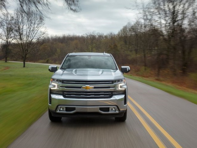 2020 Chevy Suburban front view