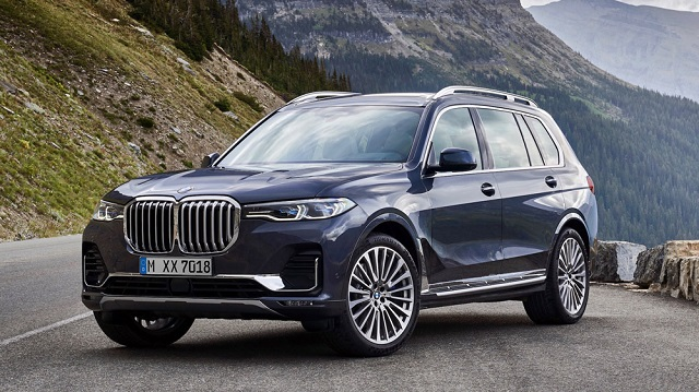 2020 BMW X7 Dimensions