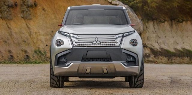 2020 Mitsubishi Montero front