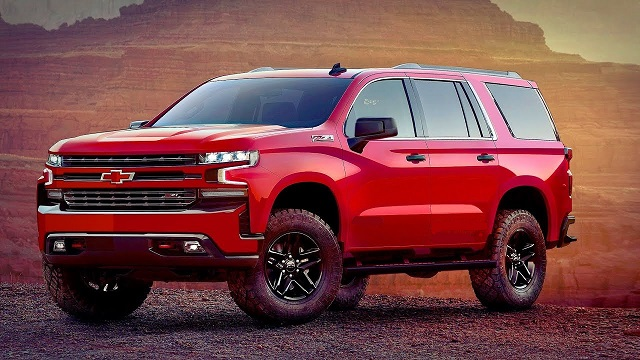 2021 Chevy Suburban Redesign