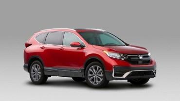 2021 Honda CR-V Changes