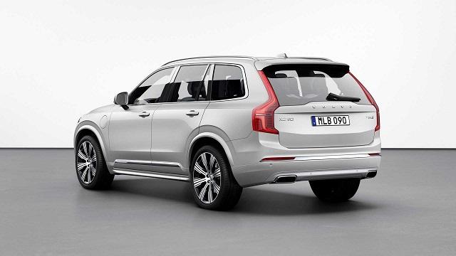 2021 Volvo XC90 redesign