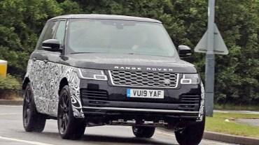 2021 Range Rover Spy Shot