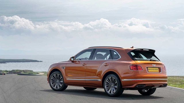 2021 Bentley Bentayga Speed price