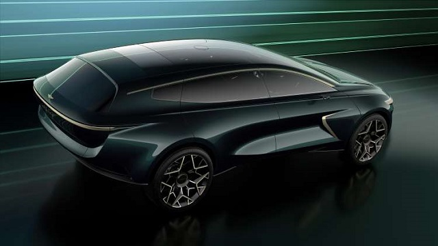 2021 Lagonda Electric SUV rear