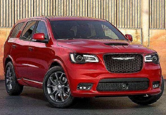 2021 Chrysler Aspen Rendering