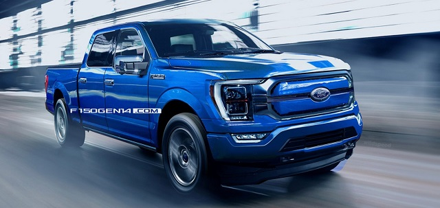 2021 Ford F-150 Full Electric source electrek