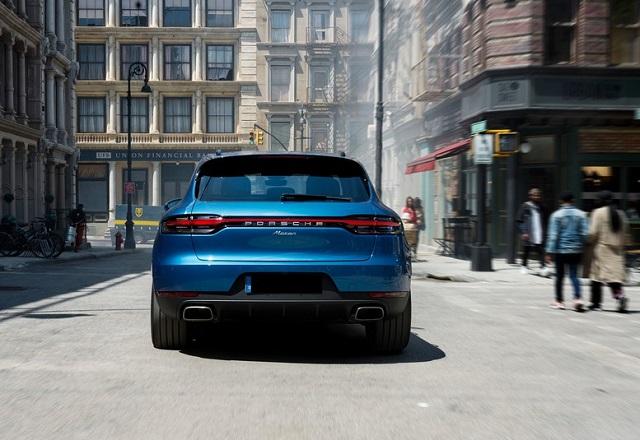 2021 Porsche Macan rear