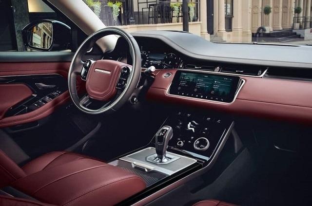 2021 Ranger Rover Evoque Interior