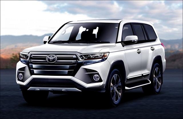 2021 Toyota Land Cruiser Rendering