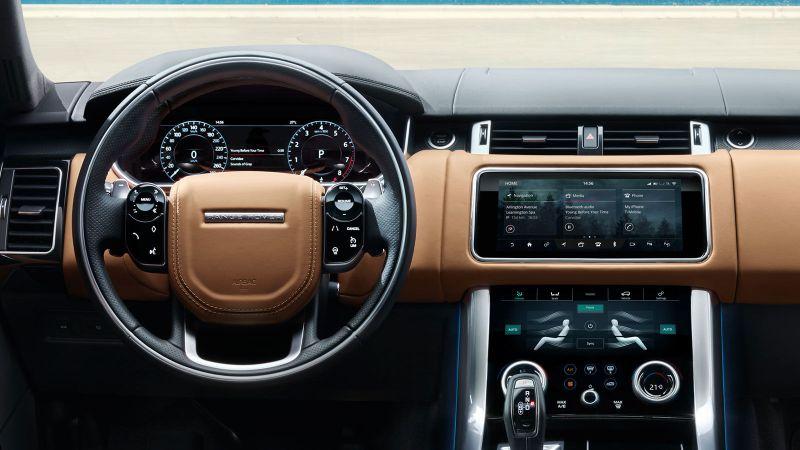 2021 Range Rover Sport Interior Design