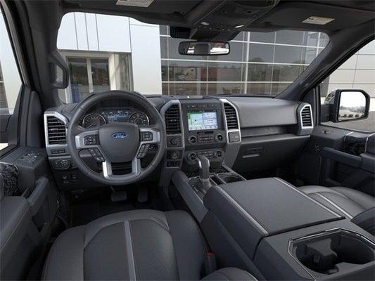2021 Ford F-150 Platinum interior