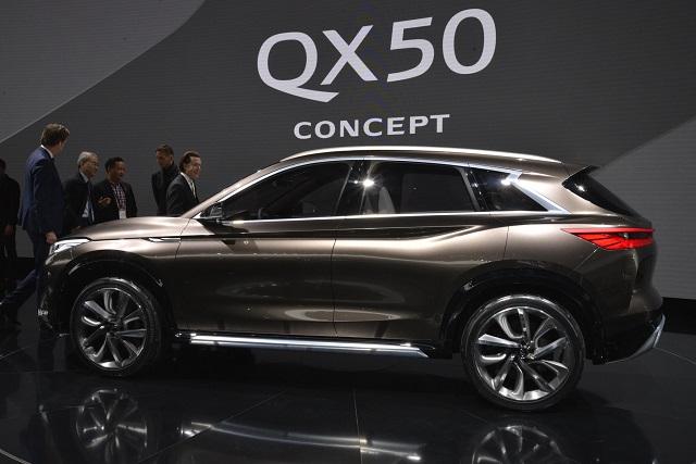 2021 Infiniti QX50 changes