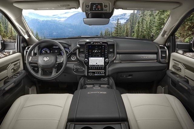 2021 Ram 3500 interior