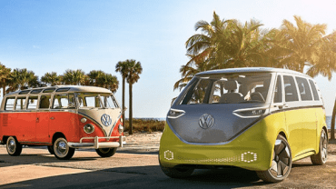 2022 VW ID Buzz Microbus old vs new