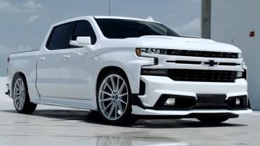 2022 Chevy Silverado SS render