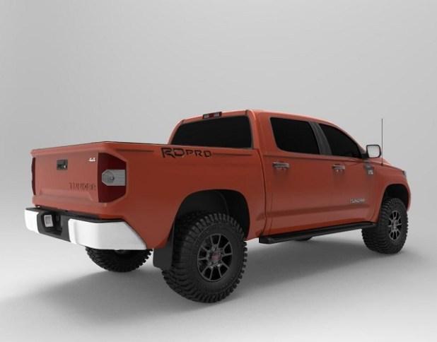 2020 Toyota Tundra Concept rear