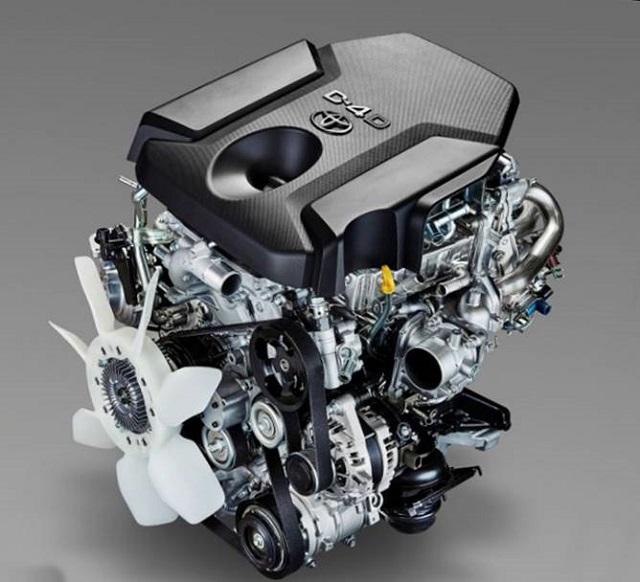 2020 Toyota Tacoma engine diesel