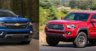 2020 Toyota Tacoma vs Chevy Colorado design