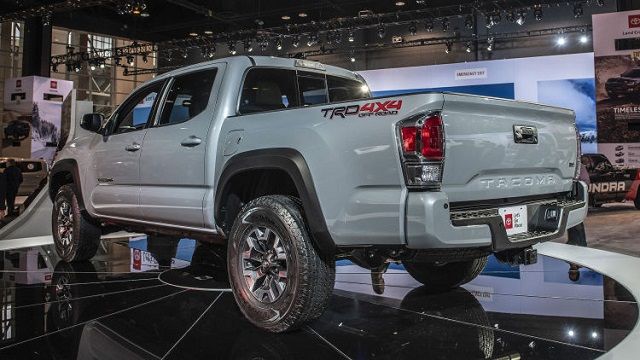 2020 Toyota Tacoma release date rear