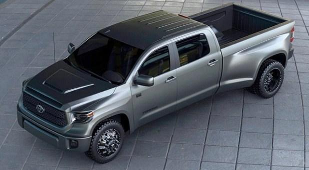 Toyota Tundra Dually Concept view