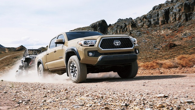 2021 Toyota Tacoma redesign grille