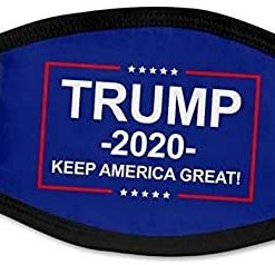 Trump 2020 Campaign Face M | Breathable & Reusable & Washable Anti Dust Mouth |